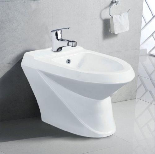 Bidet kraan voor uw badkamer chroom design kraan - Chroom ...